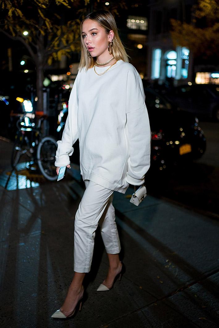 c02cfad0ab Weiße Hosen: So stylst du die Trendteile im Winter richtig