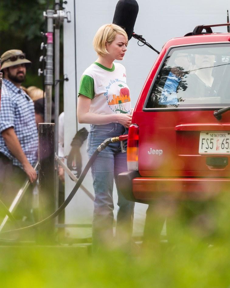 Emma Stone Die Schauspielerin Uberrascht Uns Mit Einer Neuen Frisur