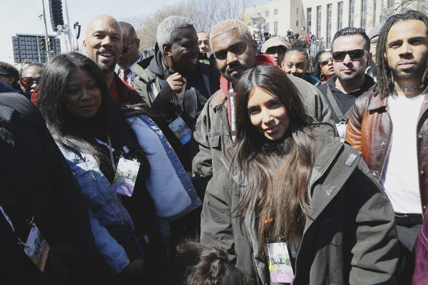 Kim-Kardashian-Kanye-West-March-for-our-lives