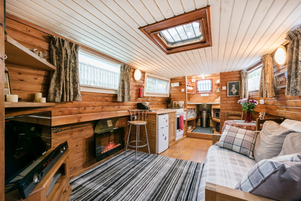 Hausboot-Airbnb-London