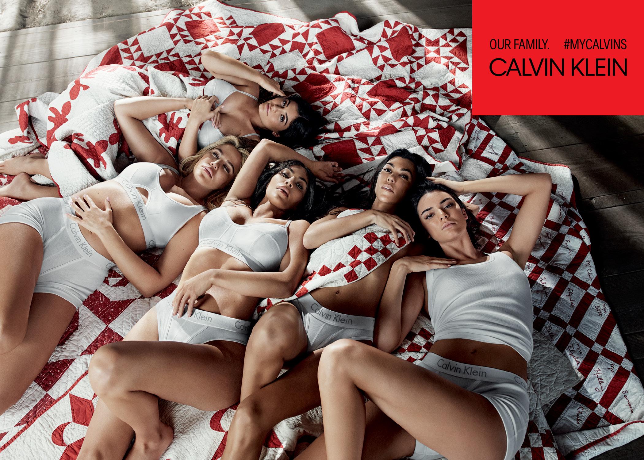 Kim Kardashian: Calvin Klein sorgt für Familienzusammenführung