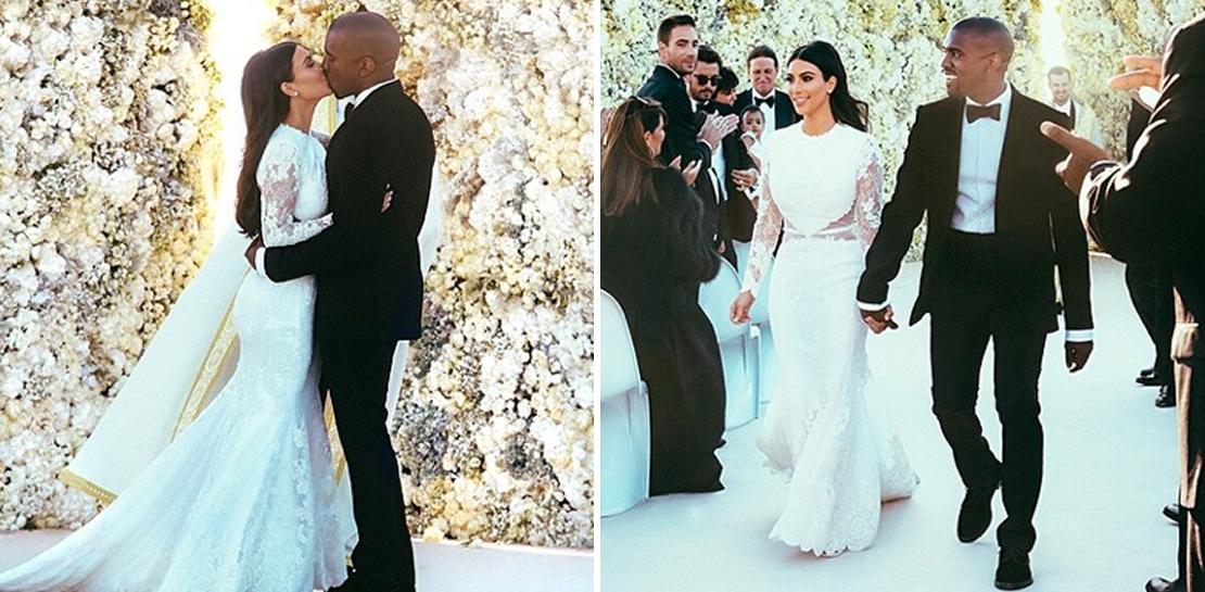 Kim Kardashian Sie Zeigt Ihr Brautkleid Amp Hei 223 E Hochzeits Facts Grazia Deutschland