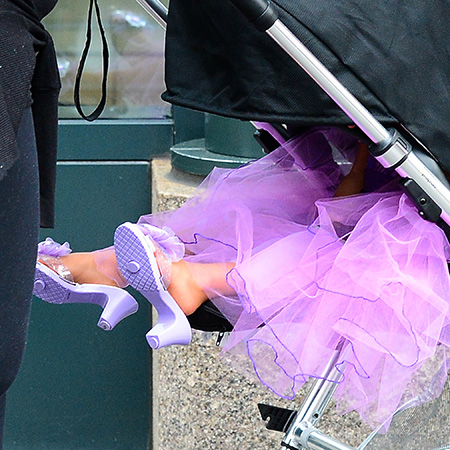 North West in High Heels!