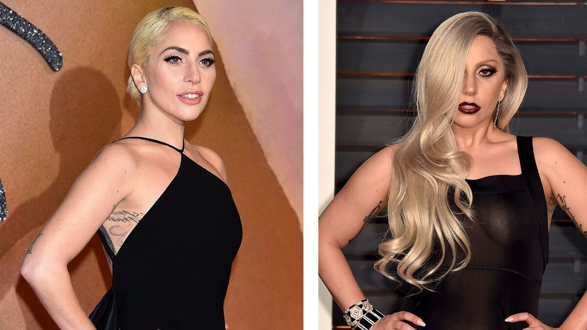 Lady Gaga Vorher Nachher